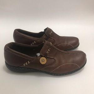 Clarks Bendable Sixty Delta Loafer Brown Leather 8